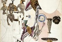 Illustration   Collage & Mixed Media