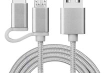 Braided&metal head Micro USB Cable Mobile Phone usb-c cable