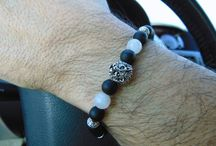 Men's stretchy bracelet made by AndyCollectionJewels