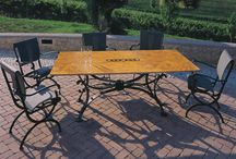 OUTDOOR FURNITURE / Outdoor furniture for home and contract