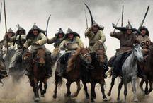 jeźdźcy mongolscy -  tatarzy