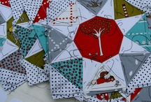 Quilting: Paper Piecing / All the fun of quilting but with the help of the paper!  / by Melissa Reddekopp