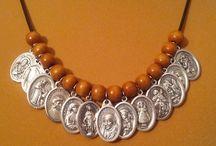Jewelry / Assorted Catholic jewelry.