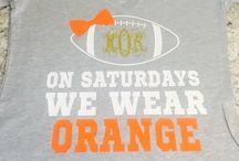 Cheer/Football Shirts