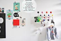 Pokoje dla dzieci / Co mnie kręci i motywuje do poszukiwania kreatywnych rozwiązań w dziecięcych kącikach. Tworzenie własnego miejsca. Przestrzeń dzieciństwa, radość. Wystrój wnętrz: poprzez zabawę do poznania. Retro, vintage, natura....