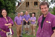 BBC 1'S DIY SOS / Some of you may have seen that I designed for and appeared on  BBC 1's DIY SOS. I've been sorting through some photo storage and have found some behind the scenes shots which I thought you might enjoy. Shame not to share!