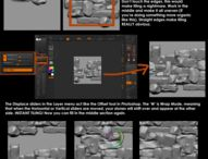 Zbrush Environment Tutorials / Tutorials for zbrush focused on the creation of environments
