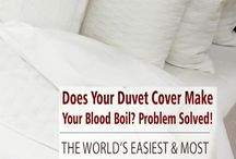 Master Bedroom / Master bedroom decor ideas featuring Beddley Duvet Covers. Inspiration for creating the perfect master bedroom.