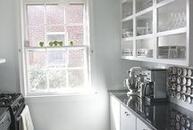 Small Kitchens / Don't despair if your apartment has a small kitchen.  Here are lots of ideas for organization, storage, and decorating a less than spacious kitchen!
