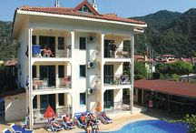 Icmeler Turkey / My board is about a place in Turkey called Icmeler which is a small, quiet village not far from a busy popular holiday resort called Marmaris