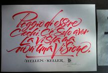 typography // calligraphy