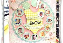 Baby scrapbook ideas