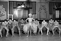 Flappers and Showgirls / Dancing girls, show girls and rebellious ladies of the vintage era