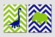 Edwards rum / Dinosaurie tavla