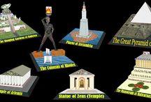 Seven Wonders of the World - 7 divov sveta
