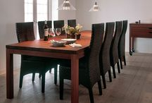 Hansen Dining / We have designed a connection of dining furniture that complement and match our kitchens