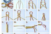 Pulseiras de corda