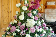 Wedding Bouquets/ Arrangements / All Bouquets and Arrangements on this Board created by Yvonne Tune Card Art Kilcoole http://cardartblogkilcoole.blogspot.ie/