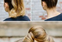 Hair styles..
