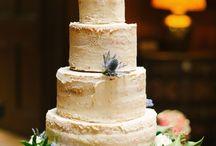 Wedding Cakes at Dundas Castle