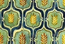 impressions textiles et motifs
