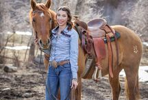 ARP Senior Pictures With Horses / Taking senior pictures with horses is a great way to get unique photos that show off your cowgirl personality. Whether you need background examples, poses, props, or outfits, this board is for you.