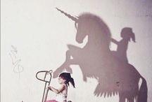 Magia infantil / Fusión del arte de un adulto y la imaginación de un niño. Magia en estado puro.