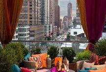 Quintal/Varandas Inspiração / Inspire-se nesses ambientes de quintal e varanda!