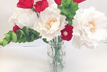 Paper Flowers / Paper Flower Projects