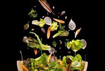 levitated food