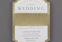 2015 Wedding Invitation Trends / This 2015 Wedding Season is all about the unique wedding invitation that makes a true statement when opened.  Font, Textures and Shapes are playing a huge role in creating the first impression along with color and theme.  Enjoy these beautiful options and most are 25% off when you check out.