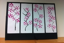 Japanese Art in Elementary / by Artist Parson