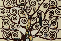 Klimt bomen Jeannine