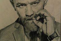 Conor Mcgregor Portrait Autor:Sabin Pirica