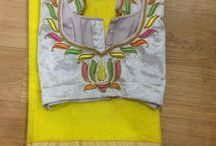 Sarry blouse matching centre