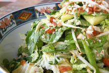 salads / by Debra-Carolyn Morris Brennan