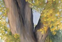 """Stromy - trees / Stromy sú moja láska - majú neopakovateľnú originalitu. Majú svoje čaro, čistotu a vznešenosť, majestátnosť.a krásu...  """"Pozdravujem vás hory, lesy ...""""!  P.O.Hviezdislav"""