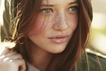 Freckle beauty