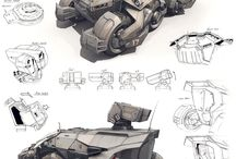 Concept Art Vehicles
