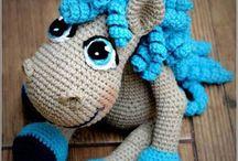 Animales en crochet
