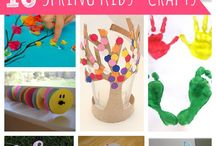 Kids crafts Spring