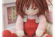 Doll knitting