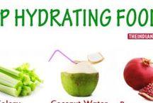 15 alimentos que ayudan a estar hidratados