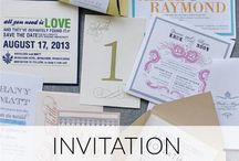 Wedding Stationery / Lots of ideas for wedding stationery. Rustic invites, save the dates, place cards, etc.
