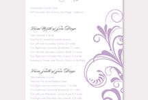 Direction Cards / by B Wedding Invitations
