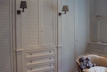 hallways/closets/storage / by Frances Glasgow