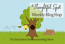 Thoughtful Spot Weekly Blog Hop / A thoughtful spot to gather every week to share your family friendly posts, crafts, educational ideas, recipes, and more!  Inspired by the philosophy of the Winnie the Pooh character in the classic A.A. Milne storybooks for children. / by Jill {Enchanted Homeschooling Mom}
