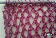 Bufandas dos agujas