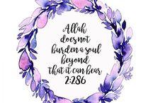 Allah SWT Al-Qur'an dan Al-Hadist