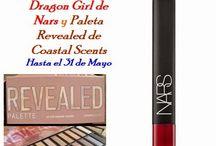 Sorteo en El Espejo de la BELLEZA: Dragon girl de Nars y Revealed de Coastal Scents